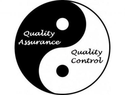 Garantia da Qualidade versus Controle da Qualidade