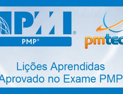 J. Matana – Passei no exame PMP – Lições Aprendidas