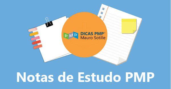 Notas de Estudo PMP