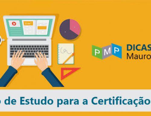 Plano de estudo de preparação para o exame de Certificação PMP