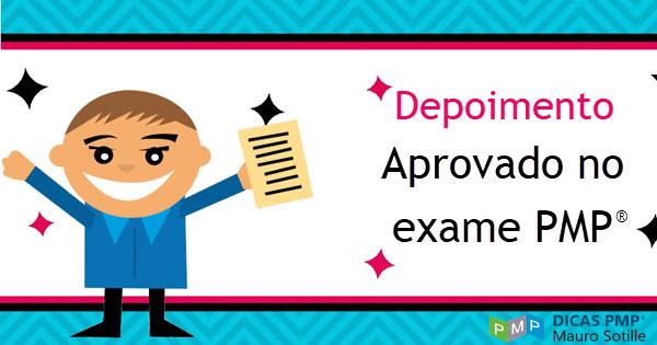 Depoimento de Aprovado no Exame PMP
