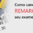 Cancelar ou remarcar exame PMP